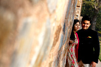 S&A pre wedding shoot at Humayun's tomb