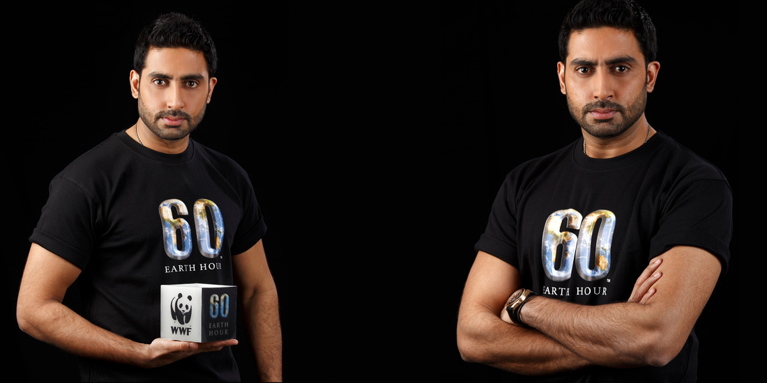 Abhishek Bachchan for Earth Hour -wwf